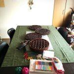 糸かけ曼荼羅と箱庭セッション。いろいろあった3日間